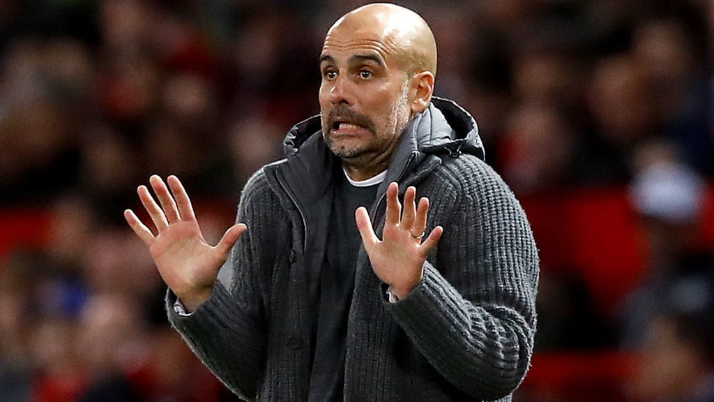 'We're not champions yet' - Guardiola urges calm despite derby win