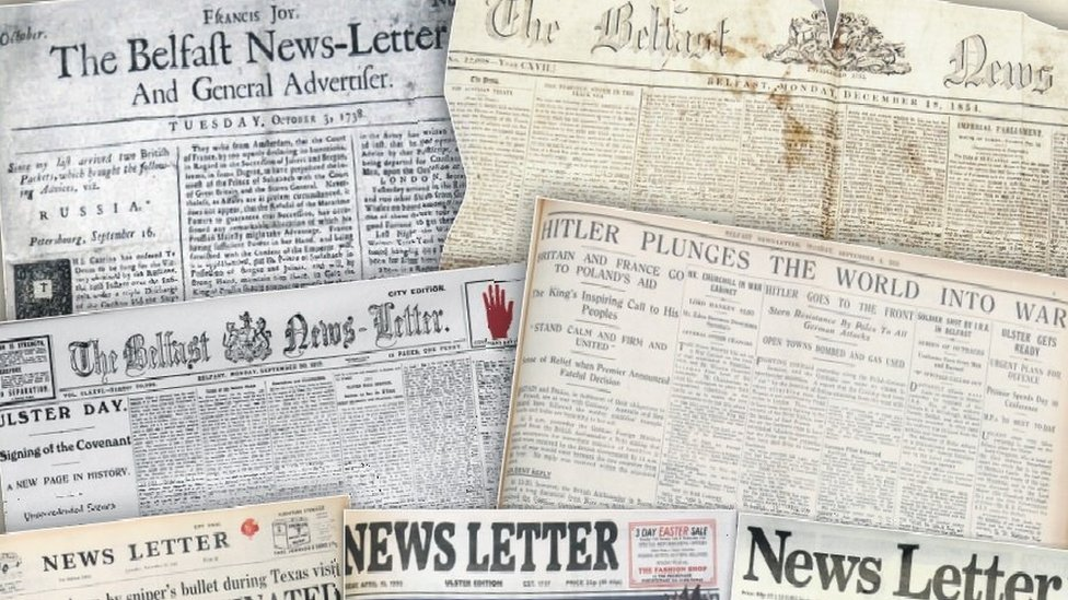 Johnston Press: News Letter owner bought over by new company