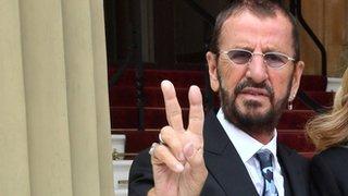 Ringo: I'll wear my medal at breakfast