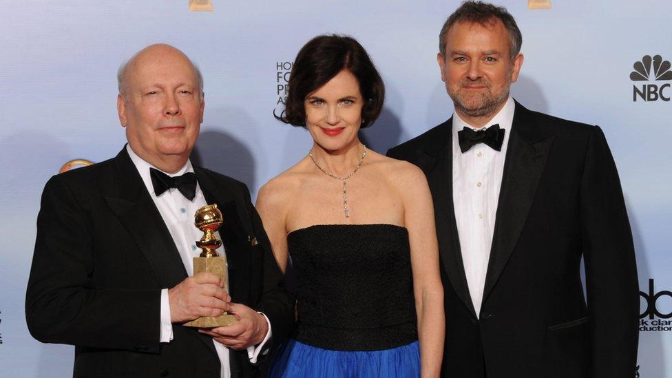 Downton Abbey movie set like a school reunion - Julian Fellowes