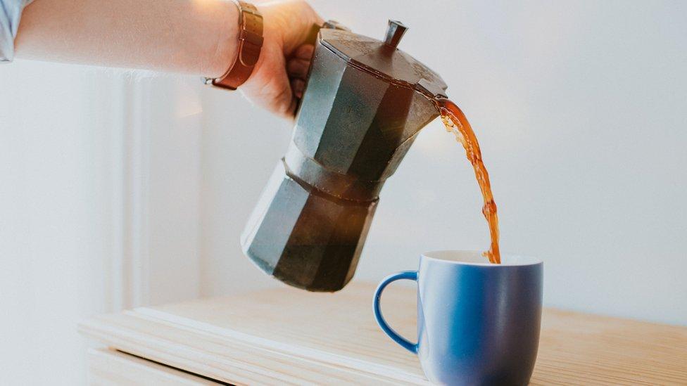 Jarra de café.