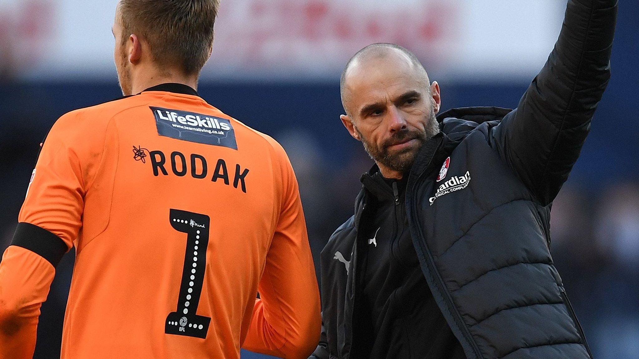 Blackburn Rovers 1-1 Rotherham United: Hosts get late point despite Marek Rodak heroics