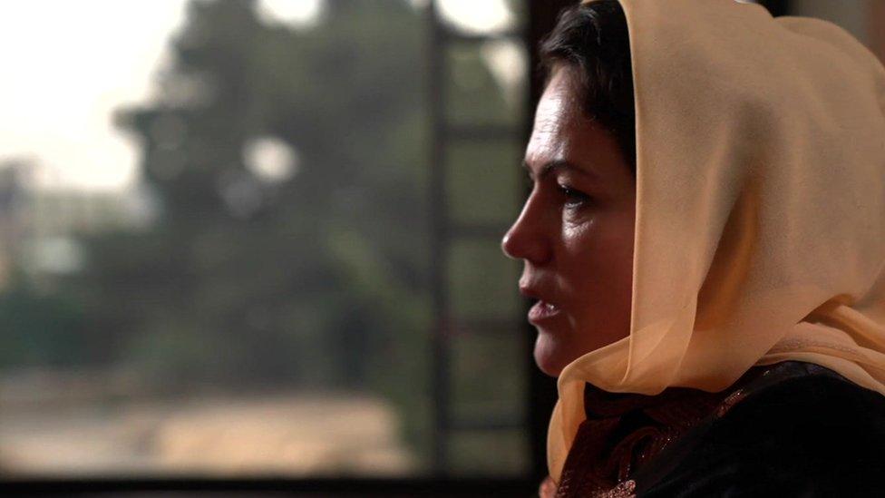 Fawzia Koofi speaks to the BBC