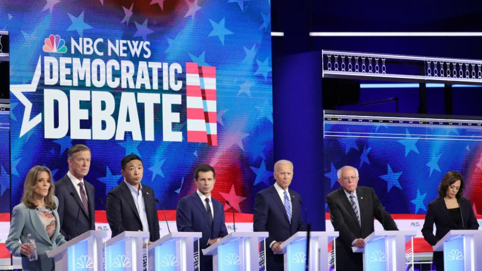 Televised NBC News debate held in June 2019