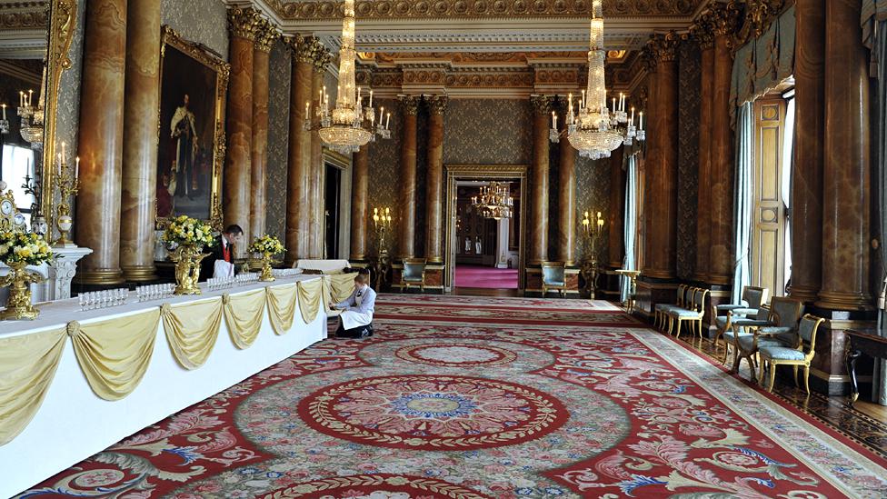 Blue Drawing Room, Buckingham Palace, 2011