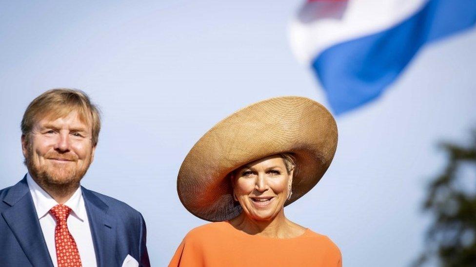 Kral Willem-Alexander ve Kraliçe Maxima