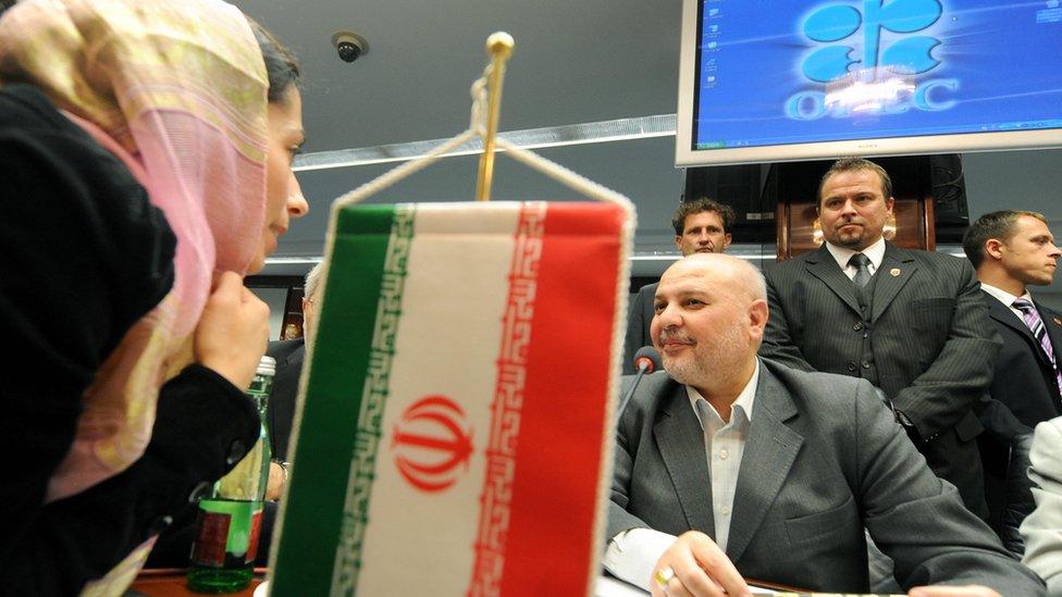 İran da OPEC üyeleri arasında
