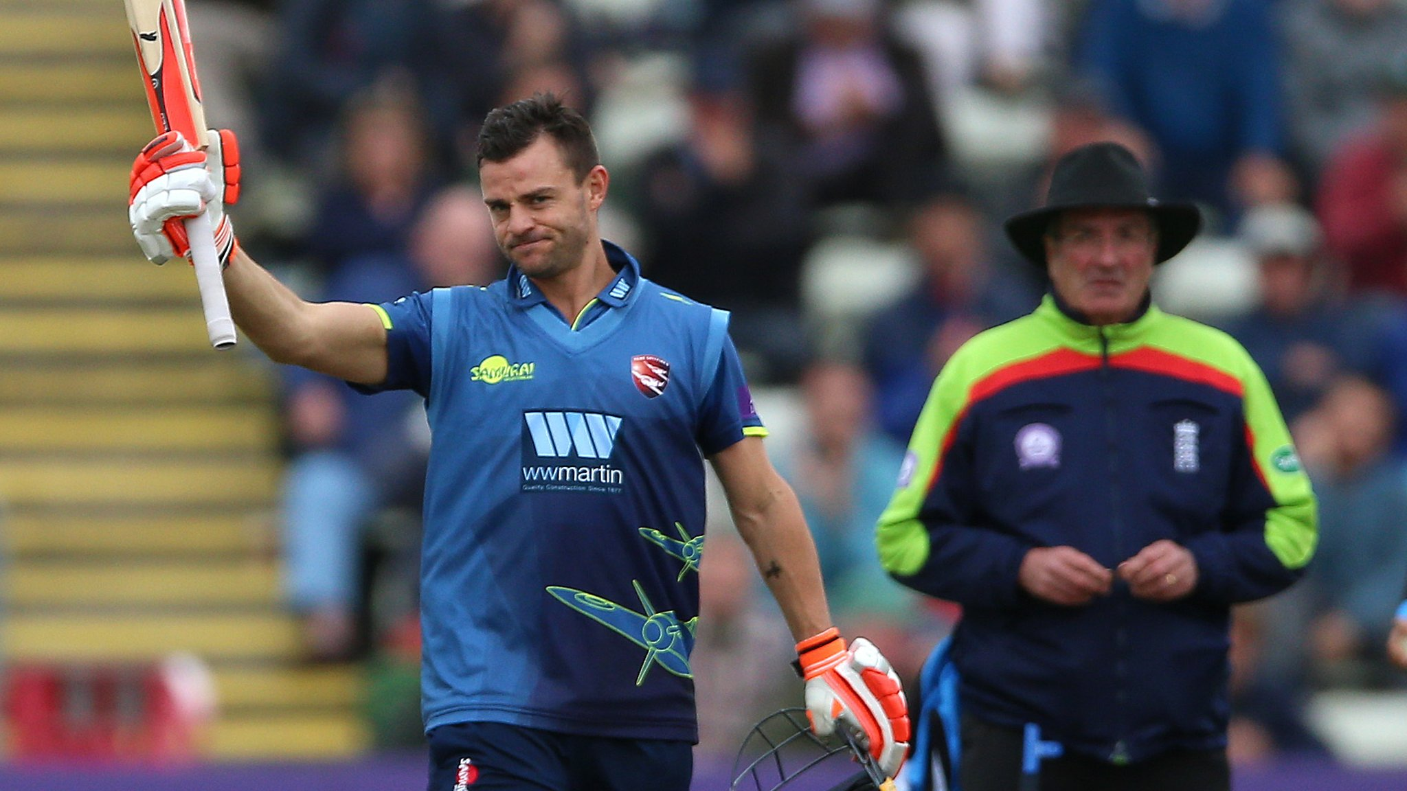 One-Day Cup: Heino Kuhn century leads Kent to win over Worcestershire