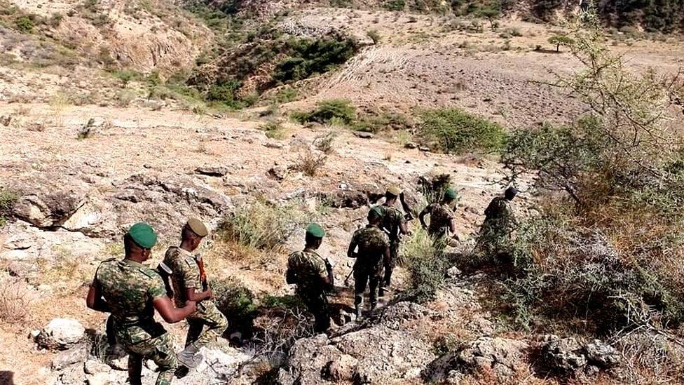 Membres de la police spéciale d'Oromia