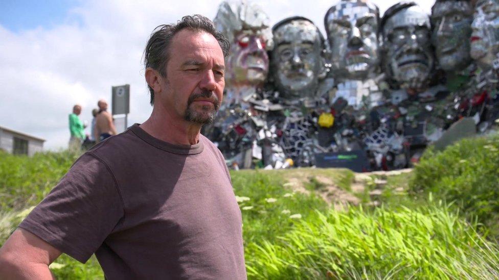 雕塑藝術家喬·拉什(Joe Rush)