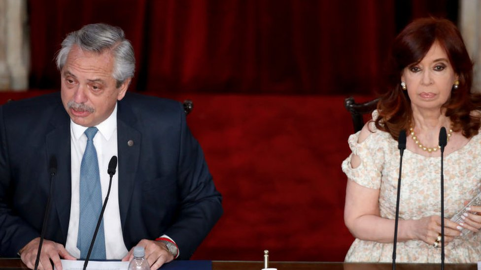 Fernández y de Kirchner