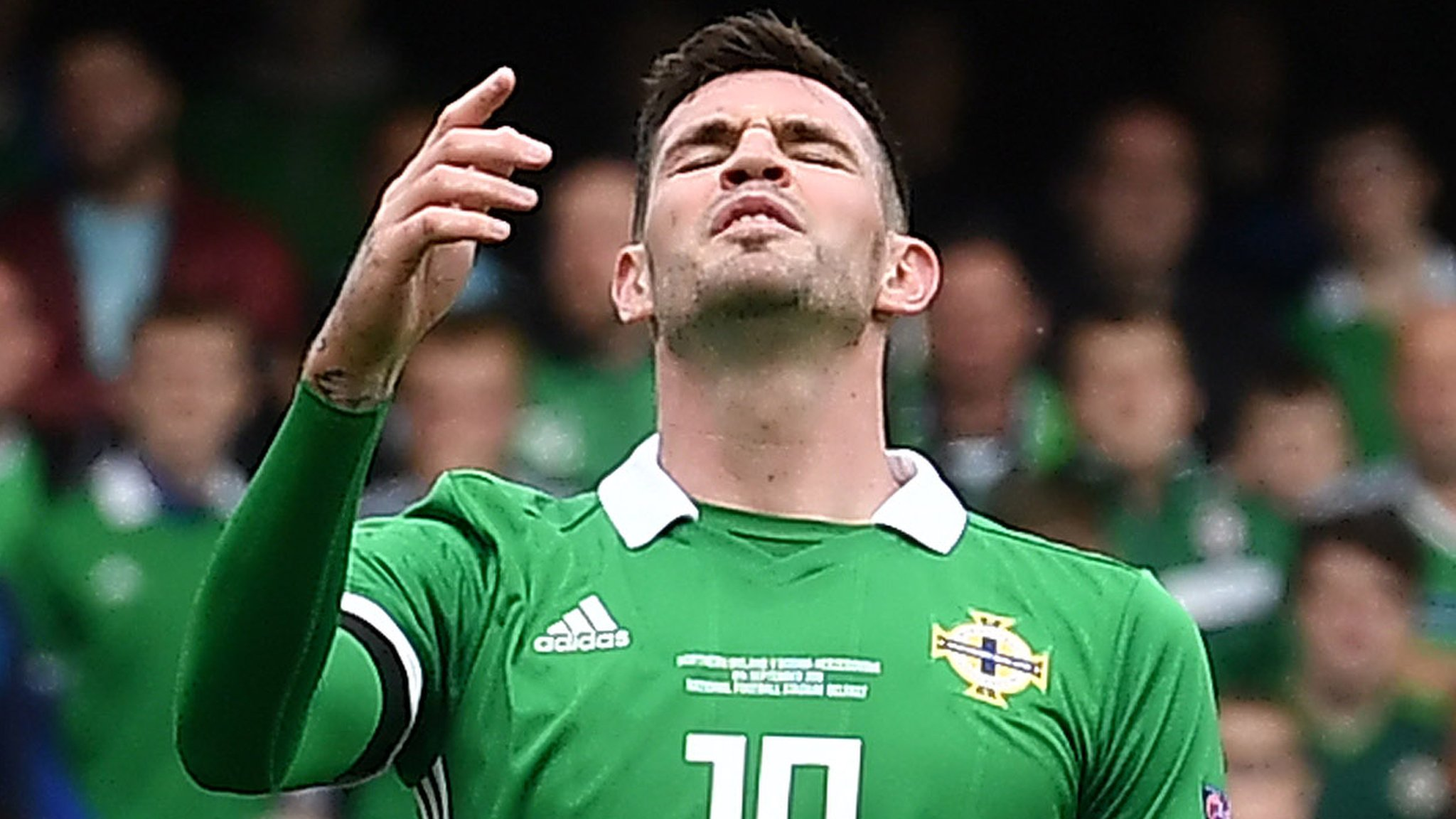 Kyle Lafferty: Rangers confirm Northern Ireland striker will miss Hamilton match