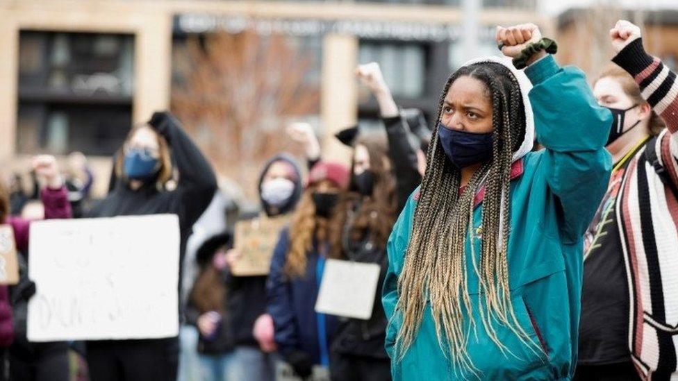 Protesti tokom suđenja