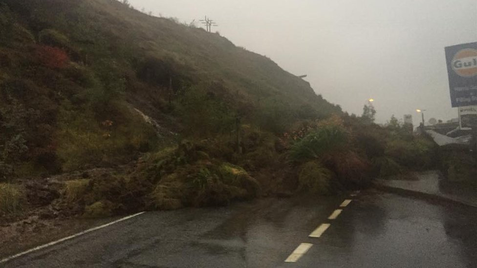 Road in Harris shut by landslip partially reopens