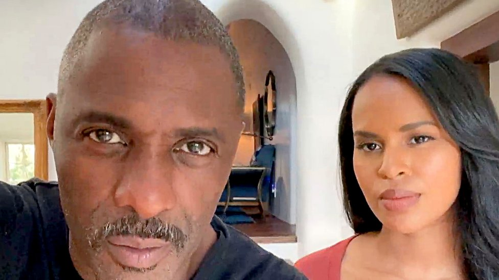 Idris Elba and Sabrina Dhowre Elba are United Nations ambassadors