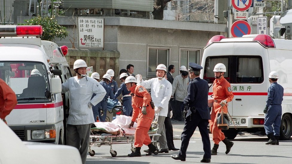 Serangan gas sarin di Tokyo