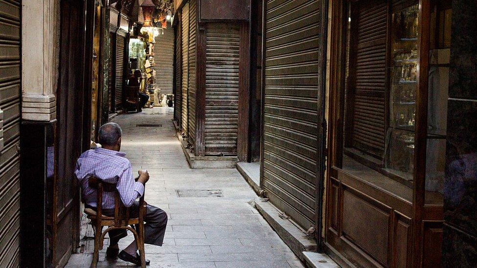 كساد في السوق التجاري المصري
