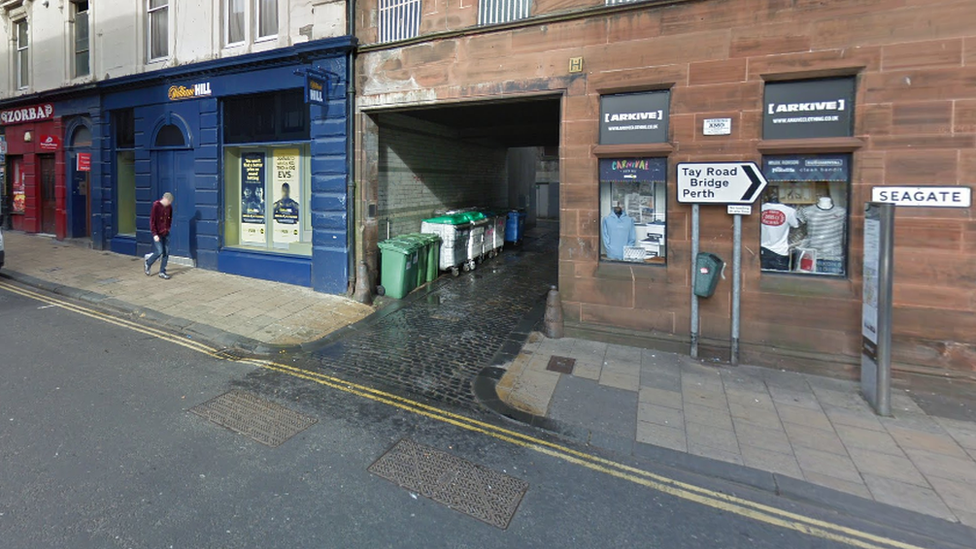 Man in court on Dundee alleyway assault charge