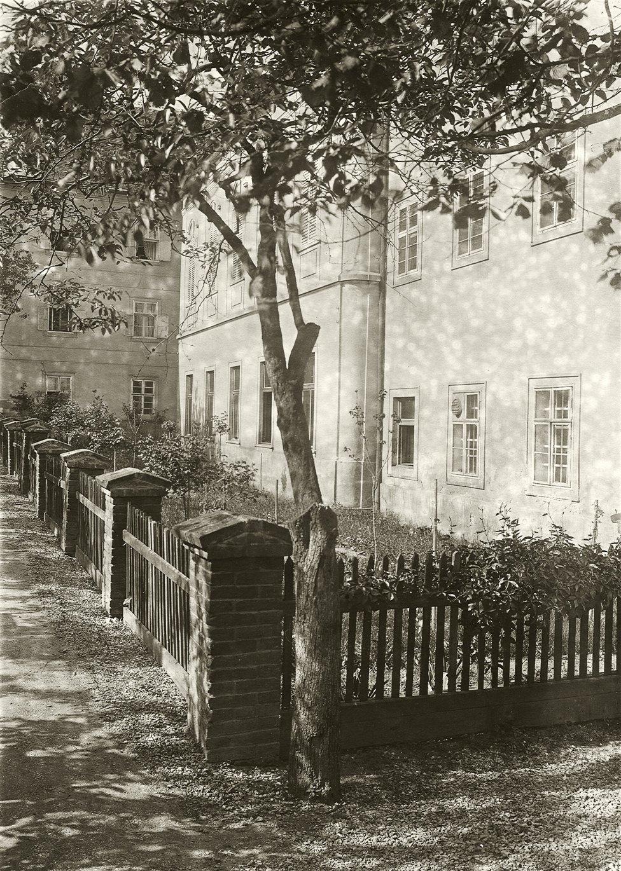 Jardín de la abadia