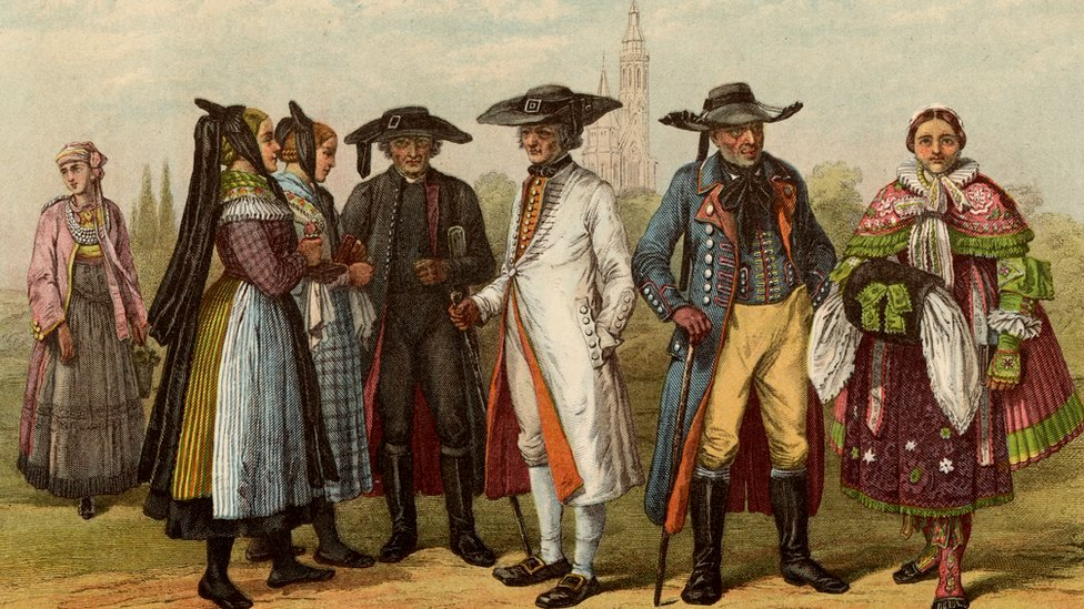 Moda alemana siglo XVIII