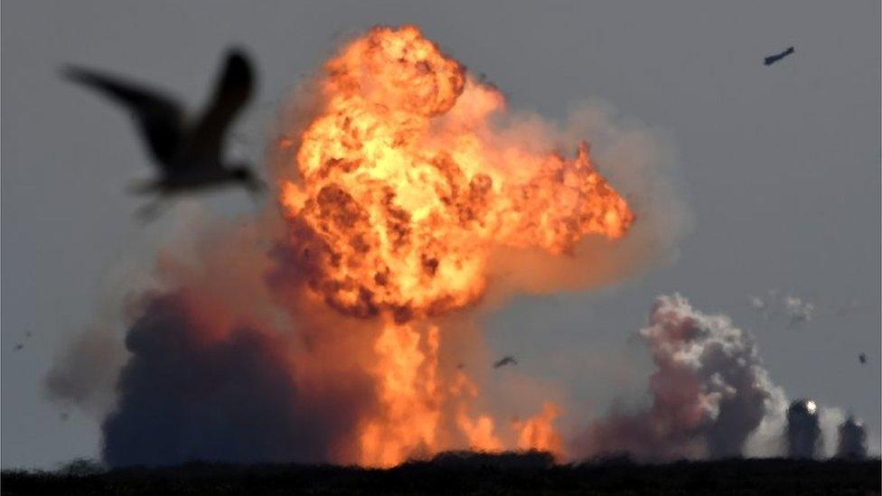 La explosión del SN8