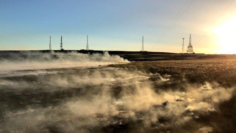 Winter Hill moorland fire 'under control'