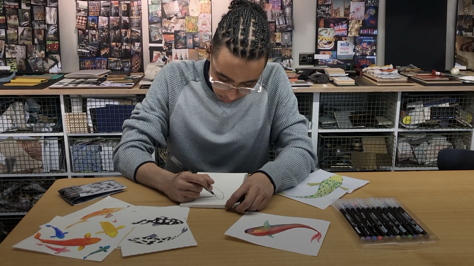 From sleeping on the streets to designing for Ted Baker