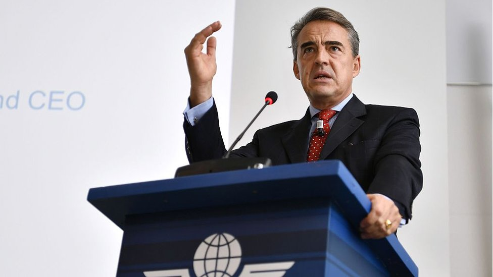 Alexandre de Juniac, director general de la IATA