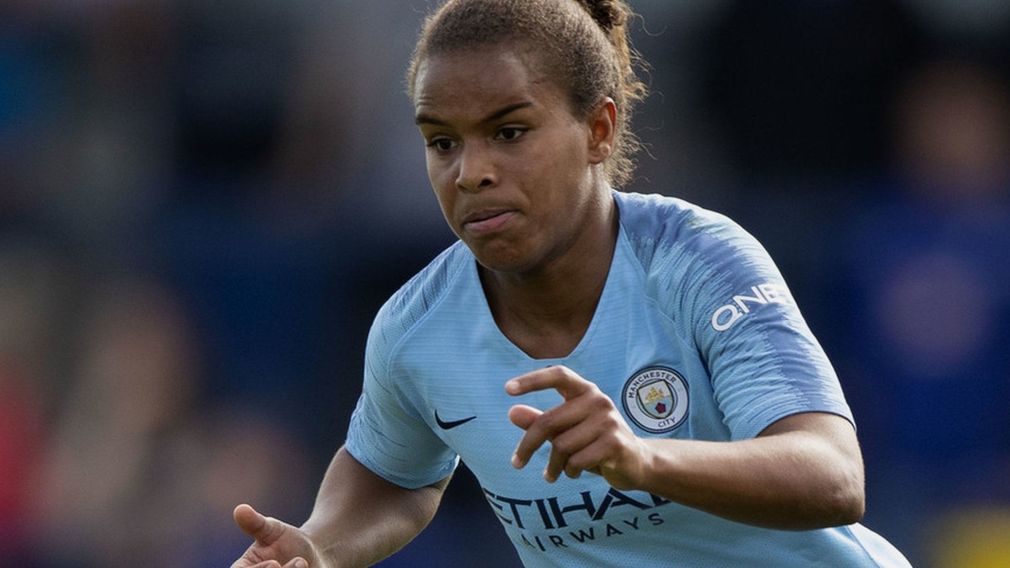 Man City Women put four past Everton
