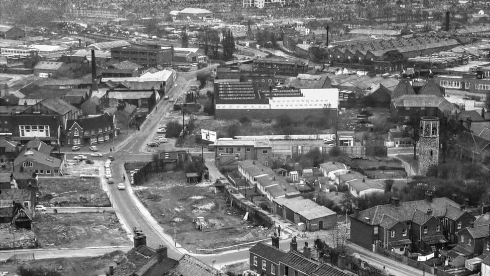 Grapes Hill before redevelopment