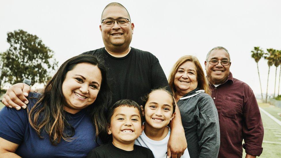 Bir aile fotoğrafı