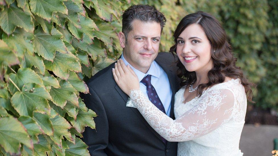 Samantha Lovell and husband