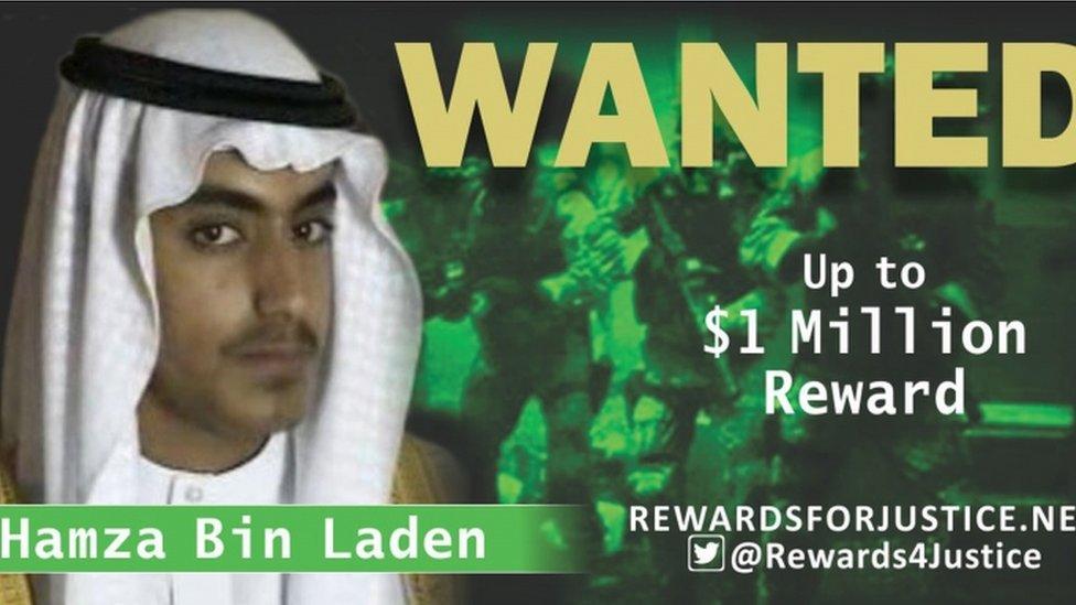دعا حمزة بن لادن لشن هجمات ارهابية في العواصم الغربية