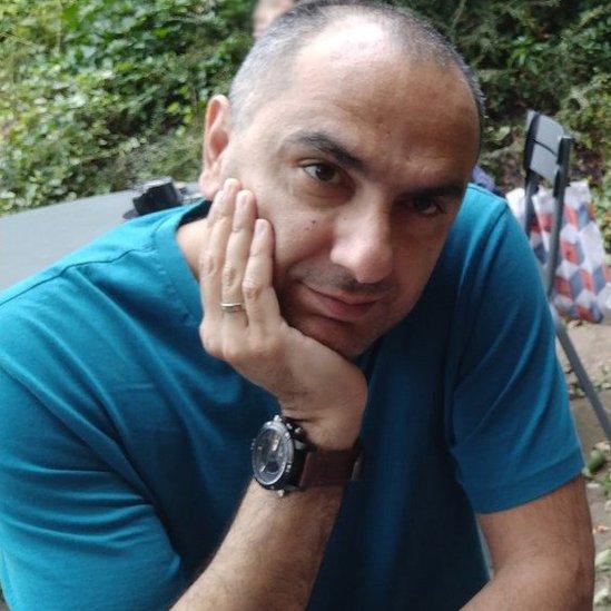 BBC journalist Hanif Mazrooei