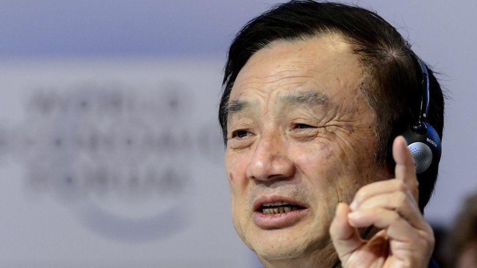 رئيس هواوي رين تشينغفي فخور بتقنيات شركته للجيل الخامس
