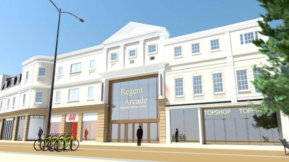 Regent Arcade in Cheltenham wins £500k revamp appeal