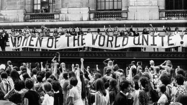 Women's strike in New York