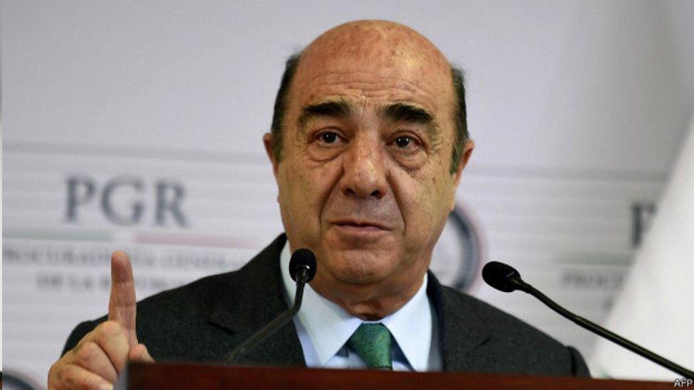 Procurador Murillo Karam
