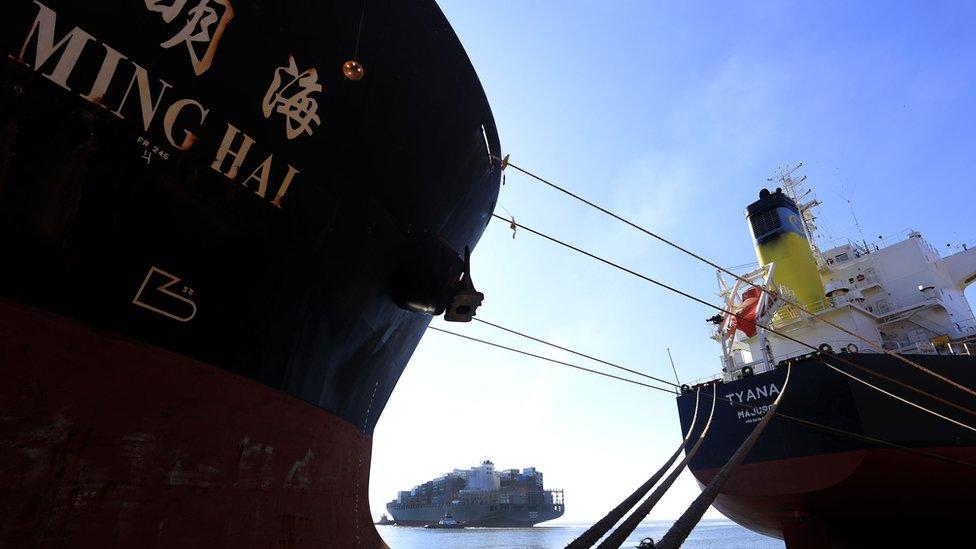 Navio chinês