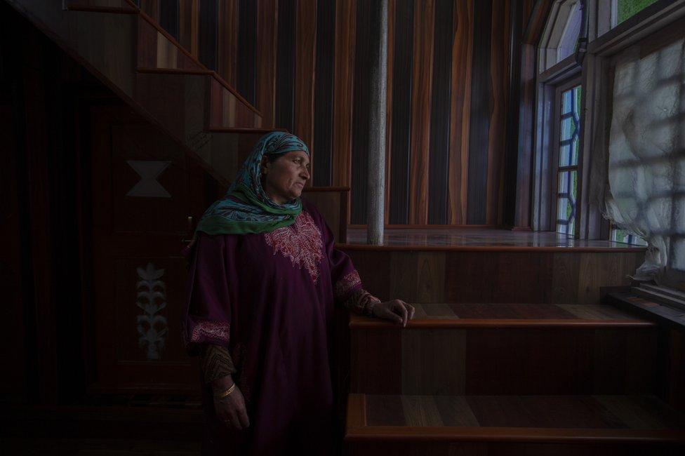 Kashmir mother