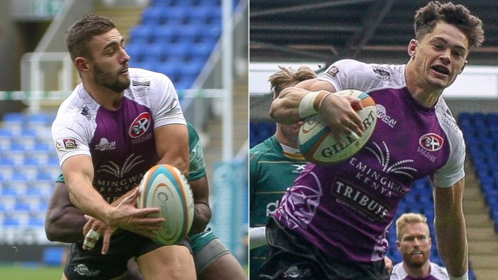 Robin Wedlake and Kyle Moyle: Cornish Pirates duo agree new two-year deals