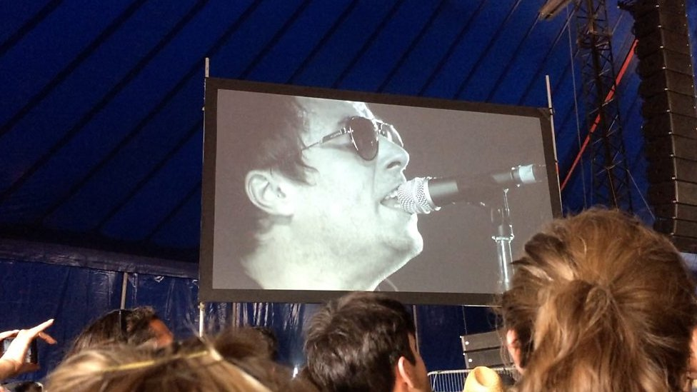 Liam Gallagher in Latitude surprise performance