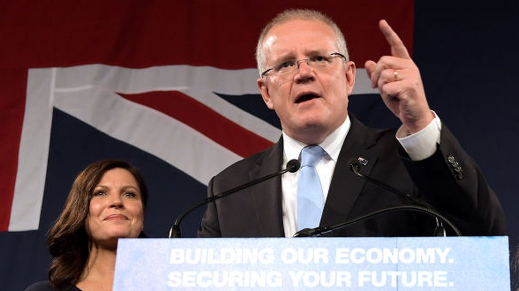 2019 Australia election: Morrison's coalition seeking shock majority