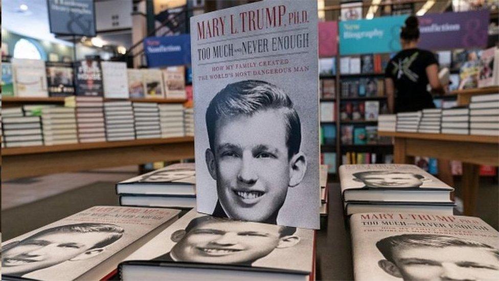 瑪麗·特朗普出版回憶錄爆料特朗普家族內部隱私