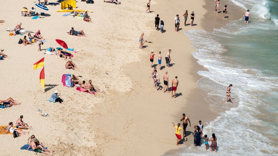 Porthcurno Beach, near Penzance