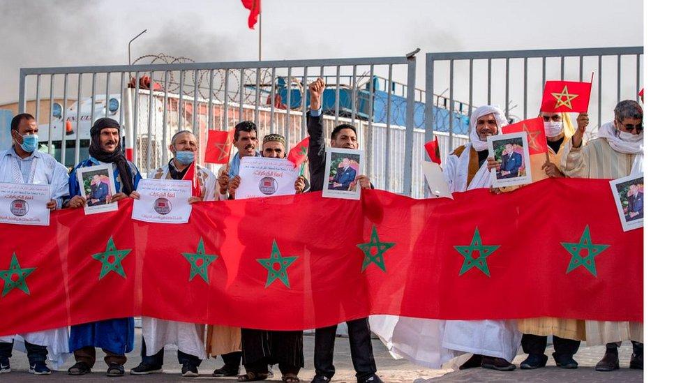 المغرب حصل على اعتراف امريكي بسيادته على الصحراء الغربية