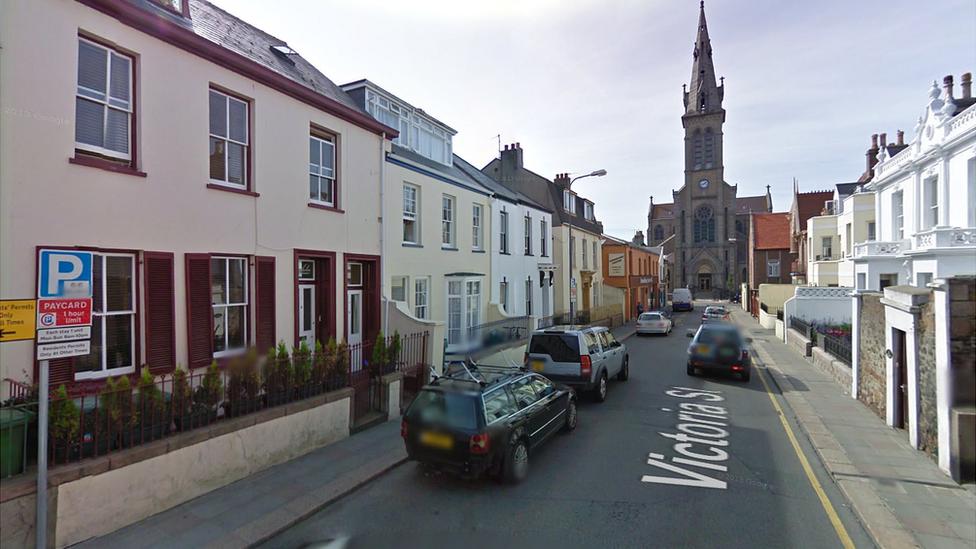 Victoria Street in St Helier