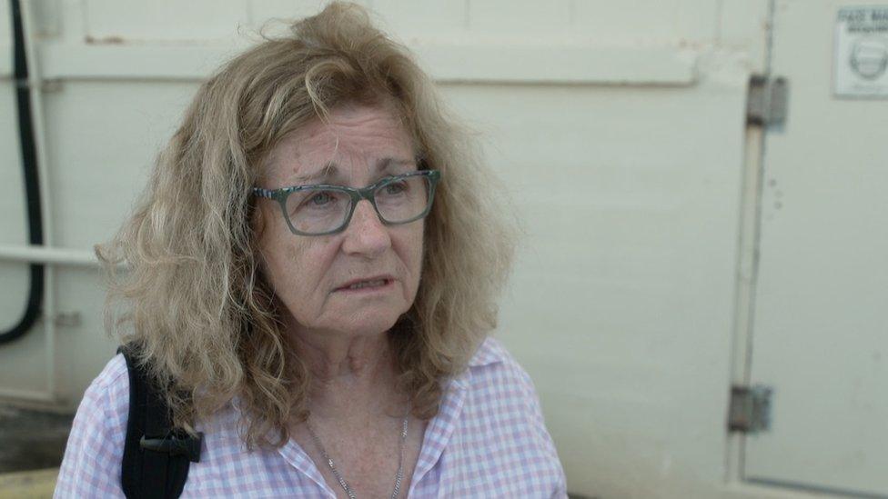 Elizabeth Berry, hermana de una víctima del 11-S