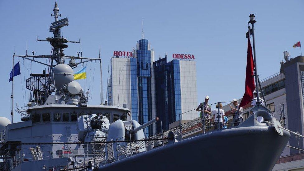 Чи можливі кораблі НАТО в Азовському морі?