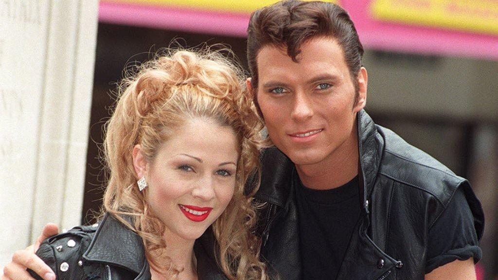 Luke Goss and Marissa Dunlop in Grease